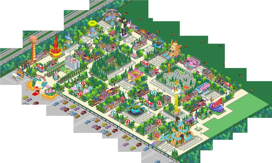 Springfield Showoff: Krustyland Take 2 | The Simpsons