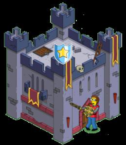 Defend Barbarian Castle