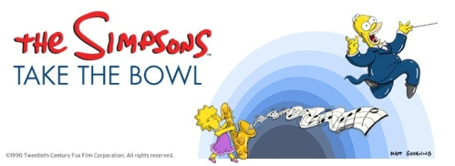 Simpsons Bowl