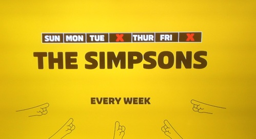 Simpsons on FXX