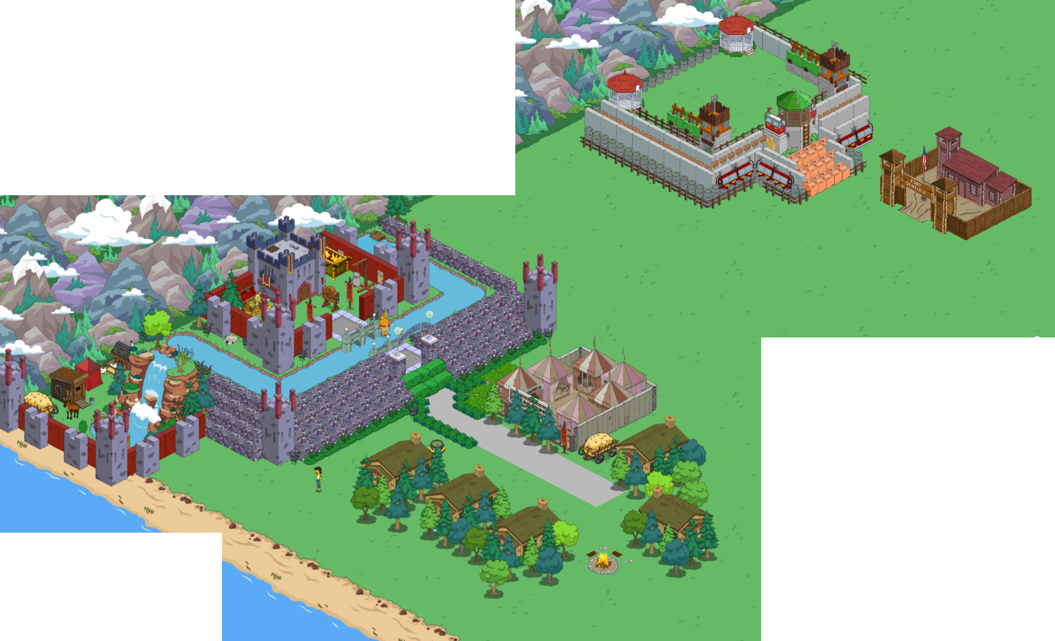 Recycled Castlethe Simpsons Tapped Out Addictsall Things