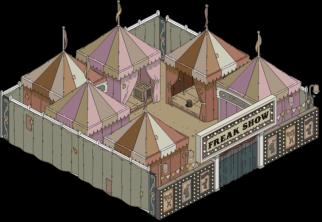 freakshow tent