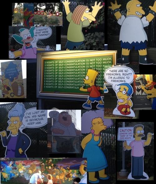 Simpsons Take The Bowl