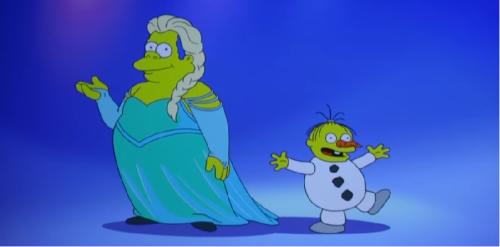 Wiggum Let It Go Frozen