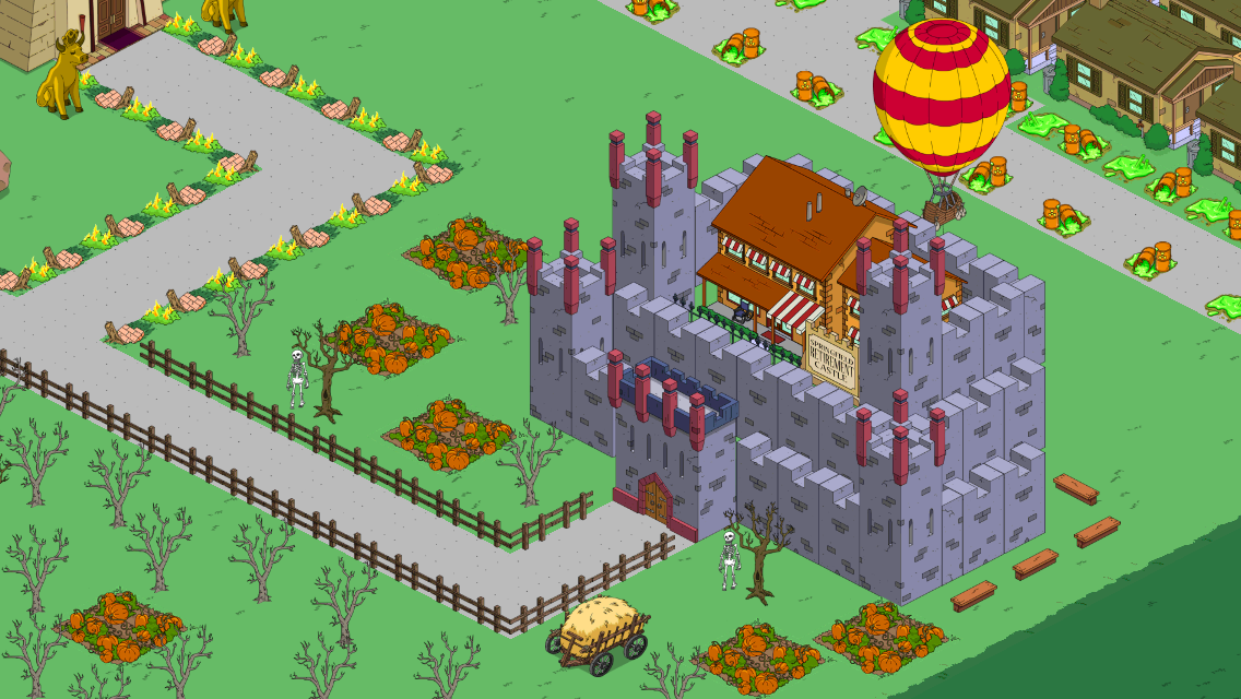 Diary of a wookiee building castles in spite of ea the simpsons