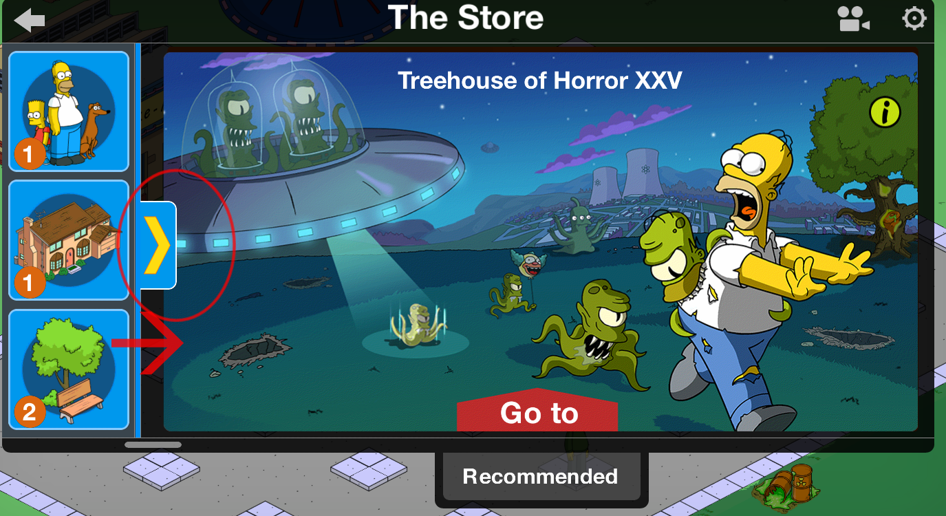 simpsons tapped out halloween 2020