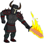 Bart Shadow Knight Senseless Killing