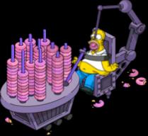 Homer donut torture device