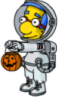 Milhouse Trick or Treat