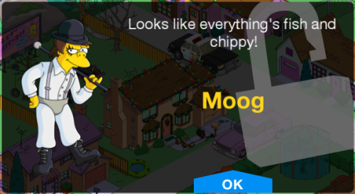 Moog Moe Unlock Screen