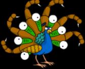 Mutant Peacock 1