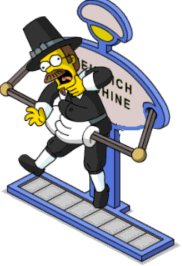 Heimlich Machine with Puritan Ned