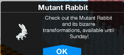 Mutant Rabbit Limited Time