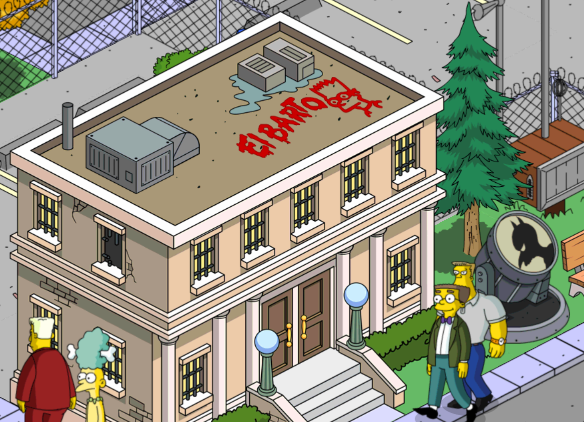 Tappers 101 vandalism tagging spray paintthe simpsons tapped out addictsall things the - Police simpsons ...