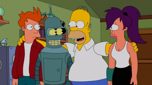 THE SIMPSONS Meets ÒFuturamaÓ in a Special Crossover Episode!