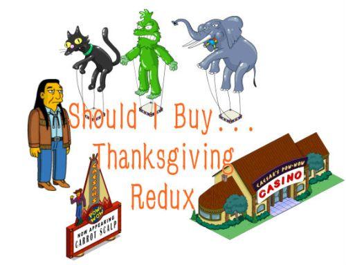 thanksgiving should i buy