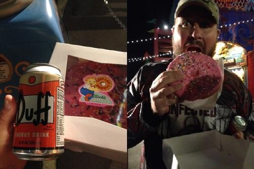 Wookiee Duff Donut