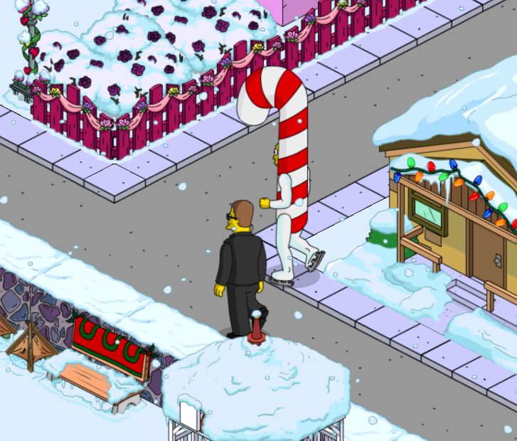 How to visit neighbors during christmas 2014the simpsons for Best places to visit in us during christmas
