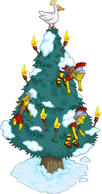 Simpsons Christmas Decorations