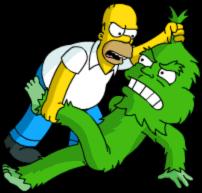 Grumple Fight Homer