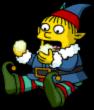 Ralph Little Helper Eat Yellow Snow 1