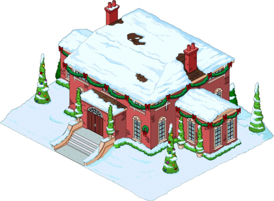 Decorated houses simpsons tapped out