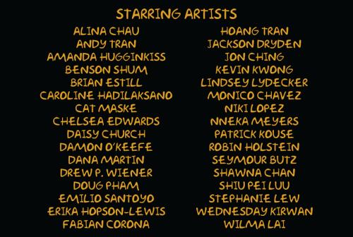 Simpsons Art Show Artists 2015