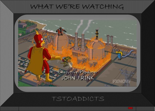 Fossil Fuel Four Simpsons