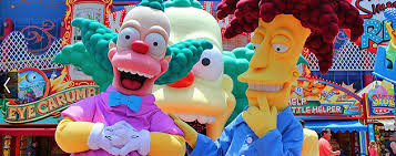 Universal Krusty & Sideshow Bob