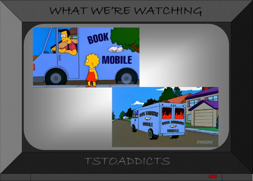 Book Burning Mobile Simpsons