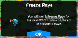 Freeze Ray Neighbor Actions