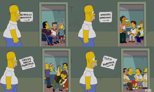 TSTO Anonymous: Springfield Stinks!The Simpsons Tapped Out