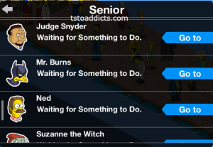 Cecil's Tasks Seniors