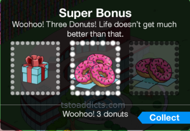 Digging Deep Super Bonus 3 Donuts Won