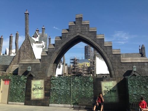 Hogsmeade Entrance Universal Studios Hollywood