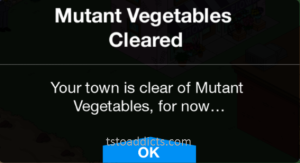 Mutan Vegetables Cleared