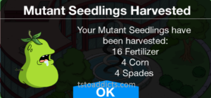 Mutant Seedlings Harvested Corn Fertilizer Spade