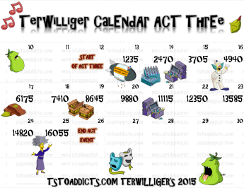 Act 3 Calendar