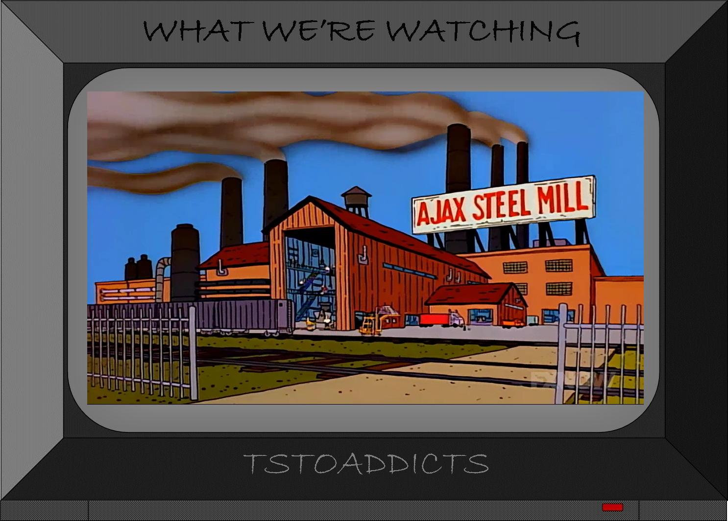 Gay Homer Mill Simpsons Steel