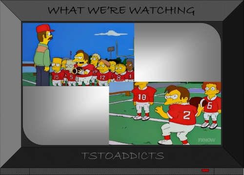 Football Nelson Simpsons