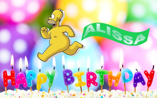 Happy Birthday Alissa