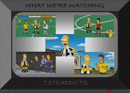 Homer Simpson Soccer Referee World Cup