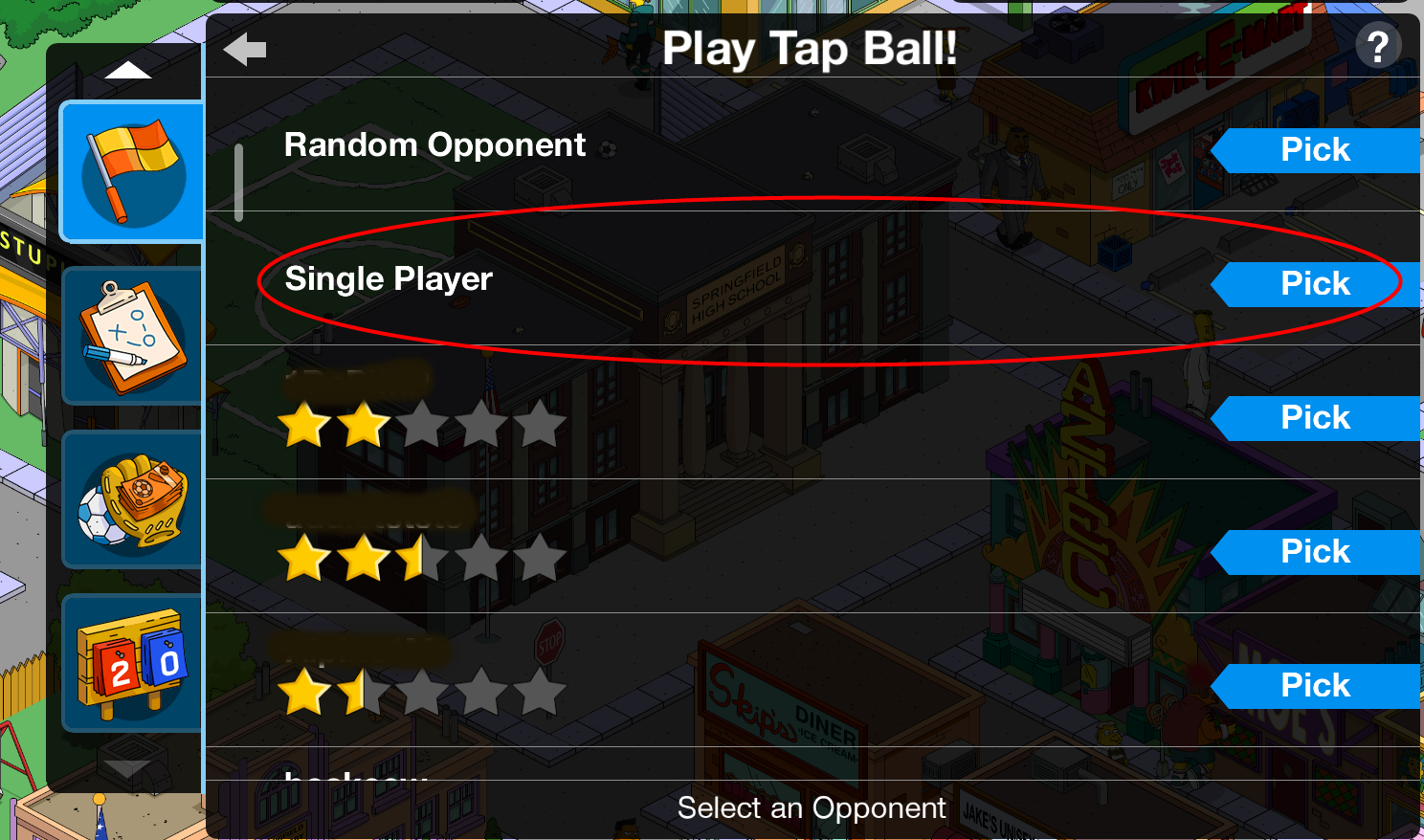 tap ball 101 how to playthe simpsons tapped out addictsall things the simpsons tapped out for. Black Bedroom Furniture Sets. Home Design Ideas