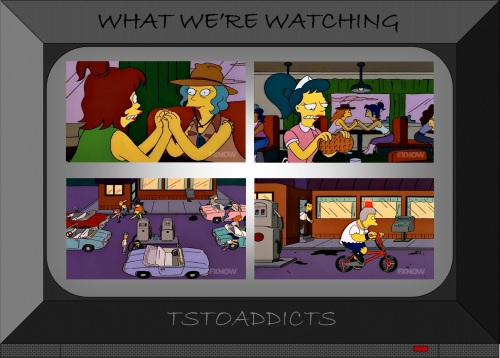the seething sisters simpsons 2
