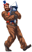 4th of July Wookiee