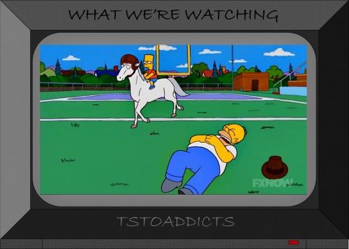 Duncan NFL Racehorse Simpsons