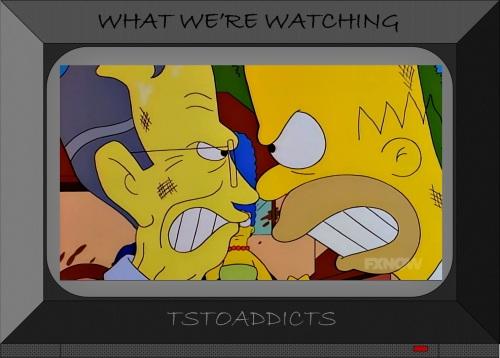 Homer Simpson vs President George H. W. Bush