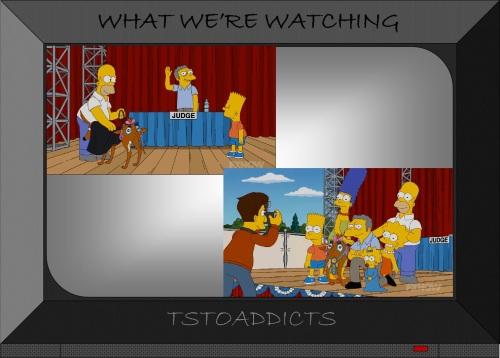 Moe Szyslak judge ugly dog contest Simpsons