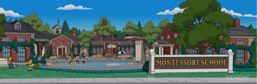 Montessori School Simpsons