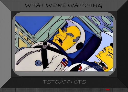 President Richard Milhous Nixon Astronaut Homer G-forces Simpsons